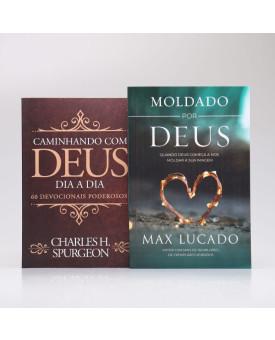 Kit Moldado Por Deus + Devocional Spurgeon Clássica | Moldados por Deus Através da Fé