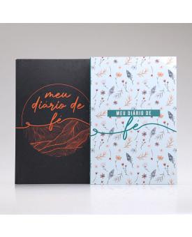 Kit 2 Livros Meu Diário de Fé | Casal de Oração | Flores do Campo