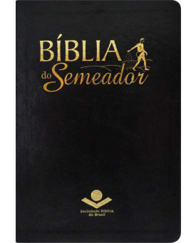 Bíblia Do Semeador | NTLH | Letra Normal | Luxo | Preta