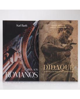 Kit 2 Livros | Cartas aos Romanos + Didaqué