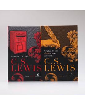 Kit 2 Livros | Cartas de C. S. Lewis + Cartas de um Diabo a Seu Aprendiz | C. S. Lewis