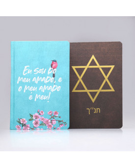 Kit 2 Bíblias King James | Casal com Deus