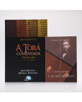 Kit 2 Livros | Catecismo + A Torá Comentada