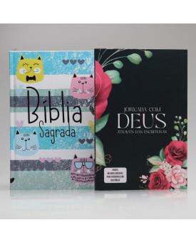 Kit Jornada com Deus Através das Escrituras Floral | Cats