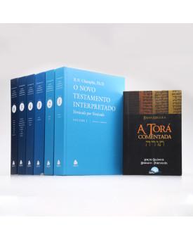 Kit 7 Livros | Novo Testamento Interpretado + A Torá Comentada | Teologia ao Alcance de Todos