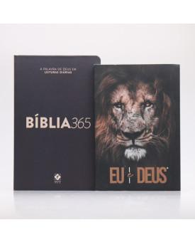 Kit Bíblia 365 NVT Clássica + Eu e Deus Eu Sou | Momento Diário
