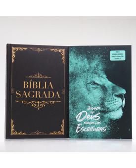 Kit Bíblia Minha Jornada com Deus NVI Clássica + Guia Bíblico | Guia Meus Passos