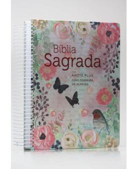 Bíblia Sagrada Anote Plus | RC | Letra Grande | Capa Dura | Espiral | Clássica Virtuosa
