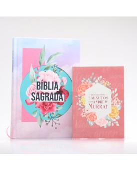 Kit Bíblia ACF Colagem + Devocional Andrew Murray | Crescendo na Graça