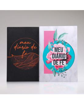 Kit 2 Livros Meu Diário de Fé | Casal de Oração | Colagem
