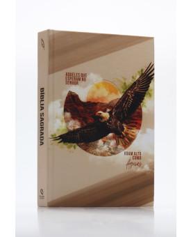 Bíblia Sagrada | NAA | Letra Grande | Capa Dura | Como Águias
