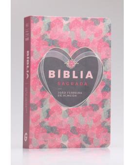 Bíblia Sagrada | RC | Letra Gigante | Luxo | Coração Brilhante