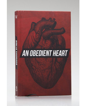 Bíblia Sagrada | NAA | Letra Normal | Capa Dura | Coração Obediente