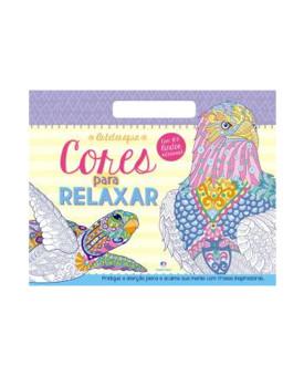 Cores Para Relaxar | 100 Adesivos | Ciranda Cultural