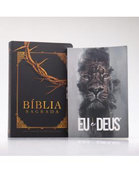 Kit Bíblia Sagrada NVT Coroa de Espinhos + Devocional Eu e Deus | Preciosa Sabedoria
