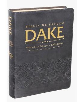 Bíblia De Estudo Dake | RC | Preta