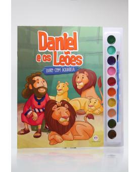 Livro com Aquarela | Daniel e os Leões | Ciranda Cultural