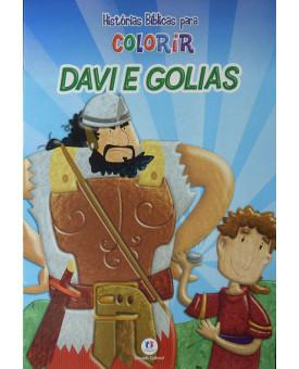 Davi e Golias | Histórias Bíblicas Para Colorir