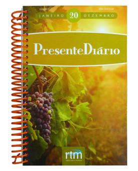 Livro Devocional Presente Diário Vol. 20 | 2017 | Letra Grande | Espiral