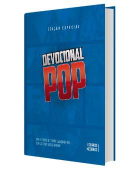 Devocional Pop | Capa Dura | Azul | Eduardo Medeiros