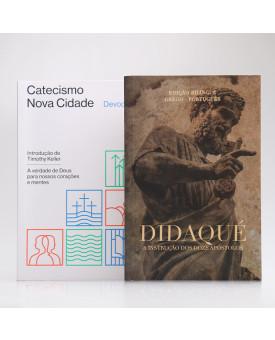 Kit 2 Livros | Devocional Catecismo Nova Cidade + Didaqué