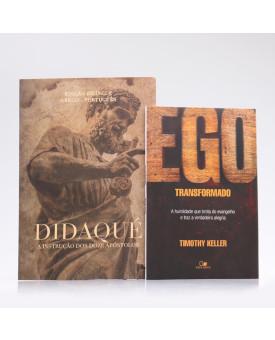 Kit 2 Livros   Ego Transformado + Didaqué   Edição Bilíngue   Transformado Pela Palavra