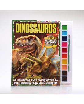 Dinossauros   Livro Para Pintar