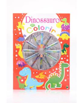 Cores em Ação!   Dinossauros para Colorir   Brasileitura