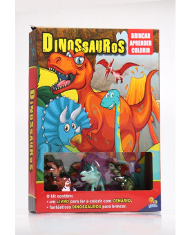 Brincar Aprender Colorir   Dinossauros   Todolivro