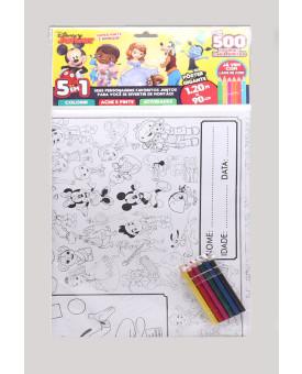 Super Pinte e Brinque - Pôster Gigante   Disney Junior   5 em 1