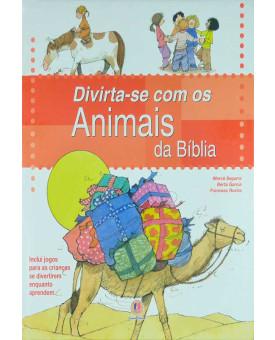 Livro Divirta-se Com Os Animais Da Bíblia