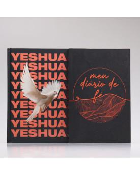 Kit Bíblia NAA Yeshua Dove + Meu Diário de Fé Colagem | Fé Restaurada