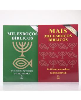 Kit 2 Livros | Esboços Bíblicos | Georg Brinke