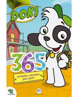 Doki - 365 Atividades e Desenhos para colorir   Ciranda Cultural