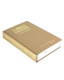 A Bíblia Sagrada | ACF | Letra Gigante | Semi-Luxo | Dourada