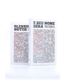 Bíblia Sagrada | ACF | Letra Média | Capa Dura | E Seu Nome Será + Blessing Notes