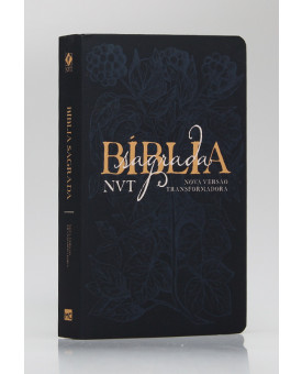 Bíblia Sagrada | NVT | Letra Grande | Soft Touch | Éden Azul
