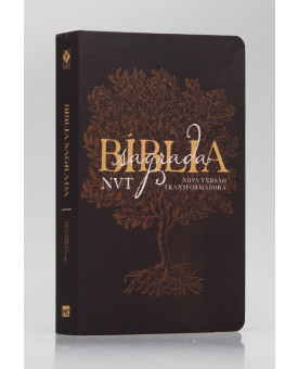 Bíblia Sagrada | NVT | Letra Grande | Soft Touch | Éden Marrom