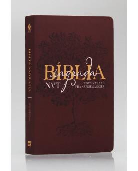 Bíblia Sagrada | NVT | Letra Grande | Soft Touch | Éden Vinho