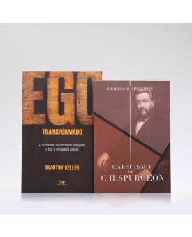 Kit 2 Livros   Ego Transformado + Catecismo de C. H. Spurgeon   Transformado Pela Palavra