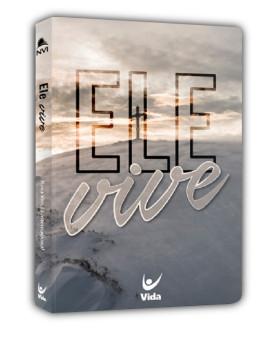 Bíblia Sagrada | NVI | Ele Vive | Letra Normal | Semi-Luxo
