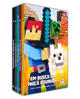 Kit 5 Livros | Minecraft