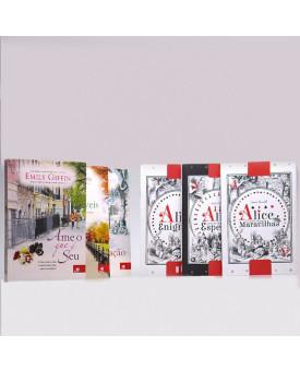 Kit 6 Livros | Romances de Emily Giffin + Obras de Lewis Carroll