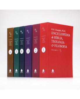 Box 6 Livros | Enciclopédia da Bíblia, Teologia e Filosofia | Russell Norman Champlin