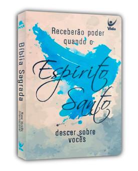 Bíblia Sagrada | NVI | Espírito Santo | Letra Normal | Semi-Luxo | Branca