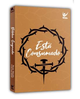 Bíblia Sagrada | NVI | Está Consumado | Letra Normal | Brochura | Caramelo | Popular