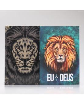 Kit Bíblia NAA The King + Eu e Deus Leão Aslam | Fé Restaurada