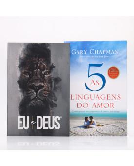 Kit 2 Livros | As Cinco Linguagens do Amor + Eu e Deus Rei dos Reis