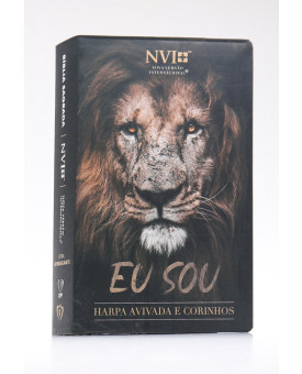 Bíblia Sagrada   NVI   Harpa Avivada e Corinhos   Letra Hipergigante   Semi-Flexível   Eu Sou