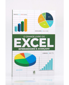 O Grande Livro do Excel Intermediário e Avançado   Robério Gonçalves